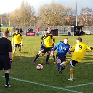 Basford pegged back by Market Drayton ( VIDEO ON LINE)