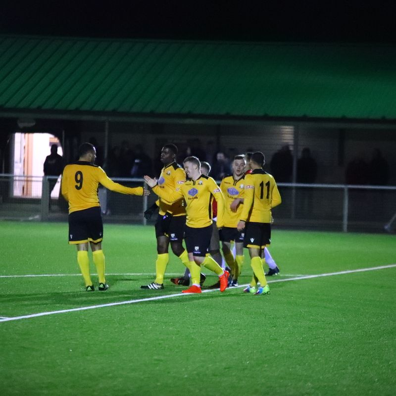 Kyle Dixon hat trick as Notts Senior cup holders Basford win to progress to Semi-Finals