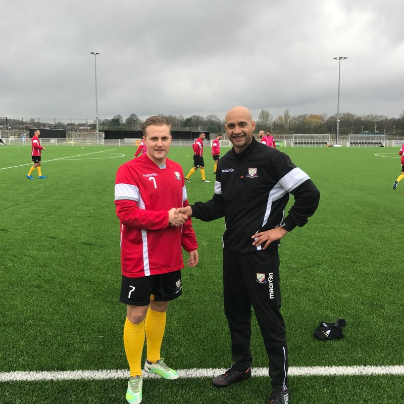 United defeat title favourites Shaw Lane in a great game & another top Signing.(VIDEO ON LINE)