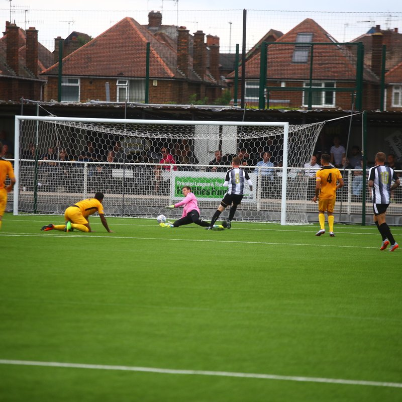 Basford give a good account against Notts County losing 0-2 (VIDEO NOW ON LINE)