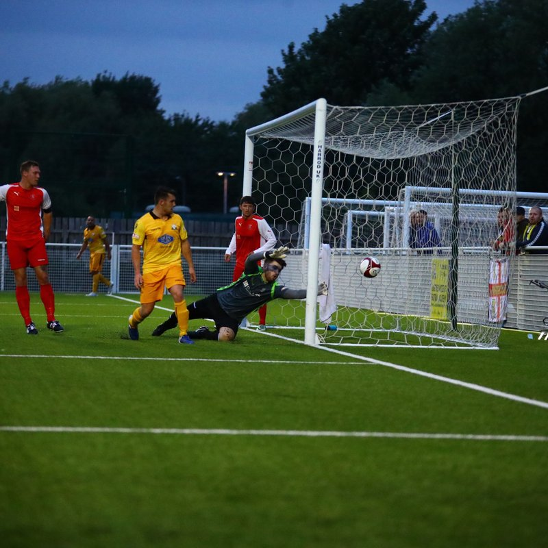 Basford make it 2 out of 2 as Strikers deliver the goals (VIDEO NOW ON LINE)