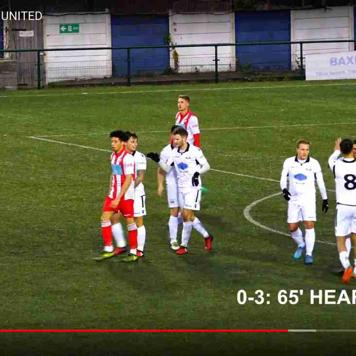 Hat trick for the Hitman as Basford win well (VIDEO NOW ON LINE)
