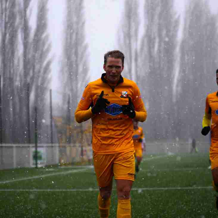Basford win in the snow as promotion points targets drops to 4 points (VIDEO NOW ON LINE)