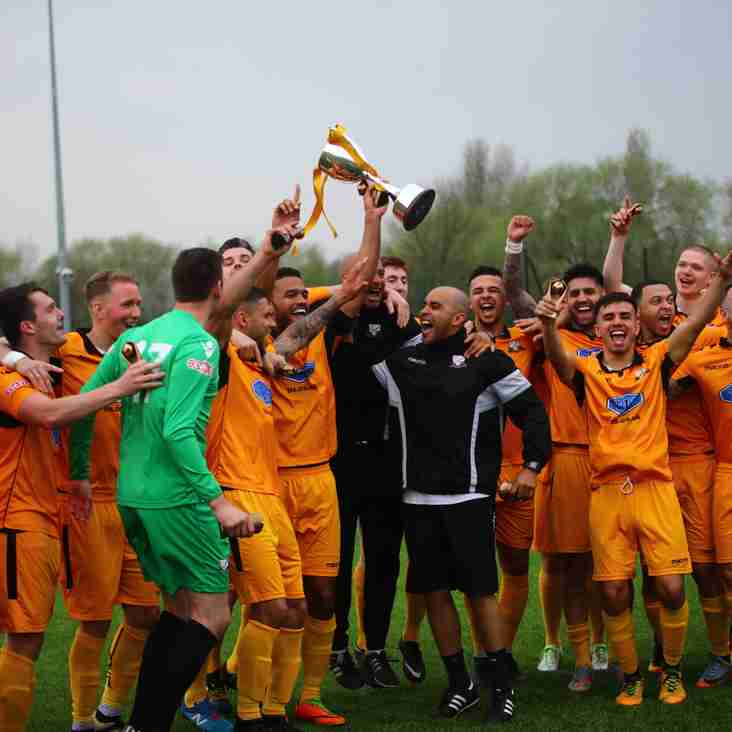 Basford collect the Evo-Stik South Championship trophy & 3 points (VIDEO NOW ON LINE)