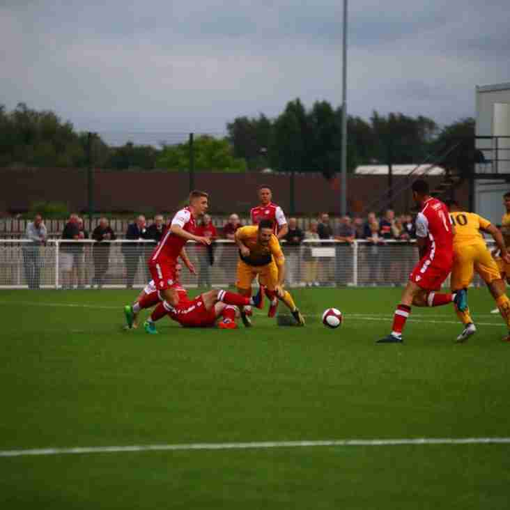 Painful loss as Basford slip up in home opener v Hednesford (Video Now on Line)