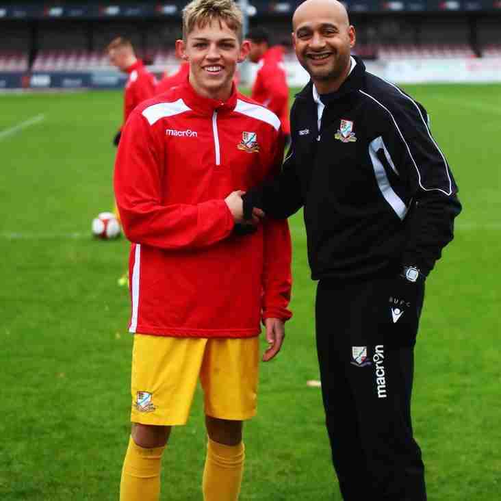 Carruthers delight as exciting striker Zak Goodson signs for Basford