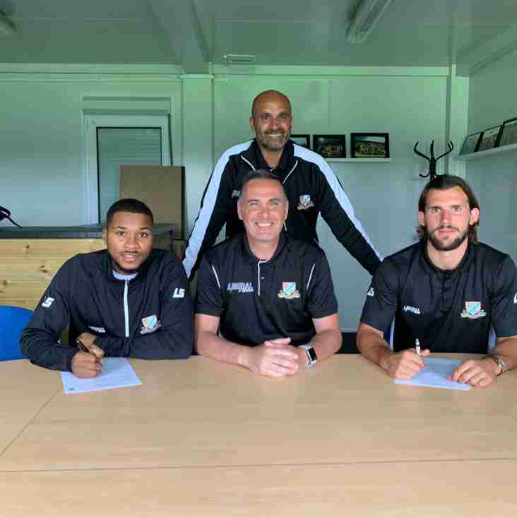 New manager Steve Chettle gives his 1st interview, & unveils a further two great signings for  2019-20