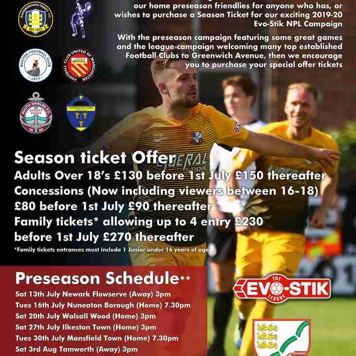 Steve Chettle formulates Basford Uniteds 2019 preseason, & Season ticket offer extended until July 1st