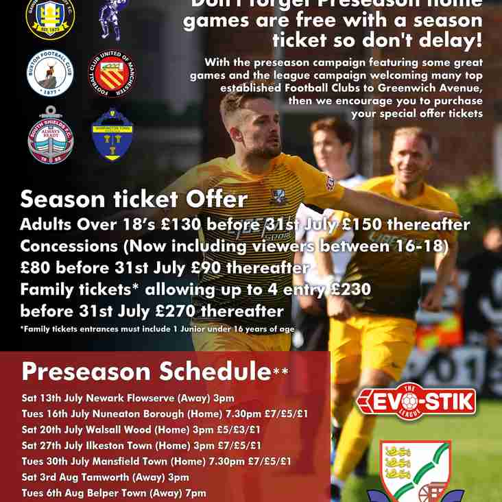 Basford Head to Newark Flowserve Sat for our Opening Preseason Fixture.