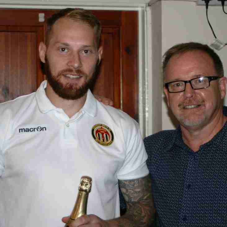 Player Of The Month Award
