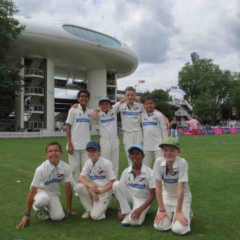 U11s win at Lords V Richmond in the Gilbert Cup