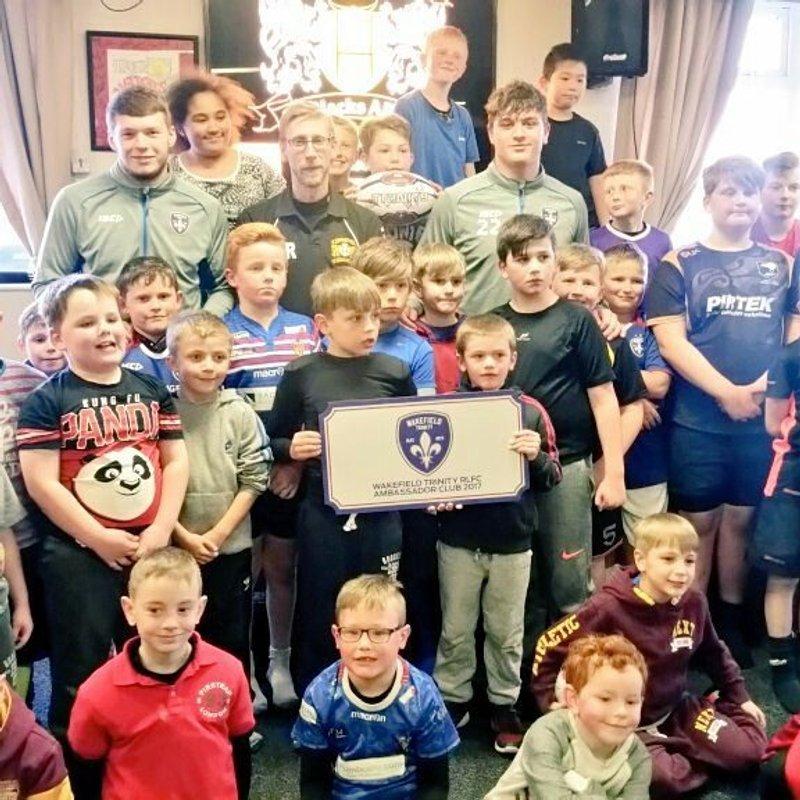 Wakefield Ambassador Player visit 20/4/17