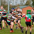 Under 13s Beat Lutterworth in windy conditions!