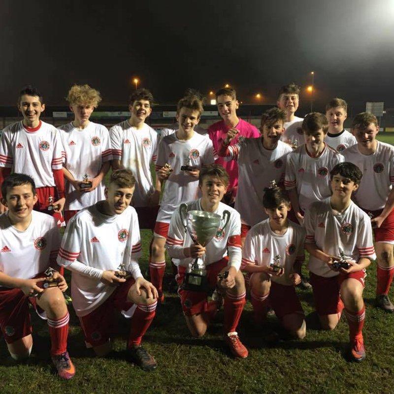 U15's WIN REGENCY CUP