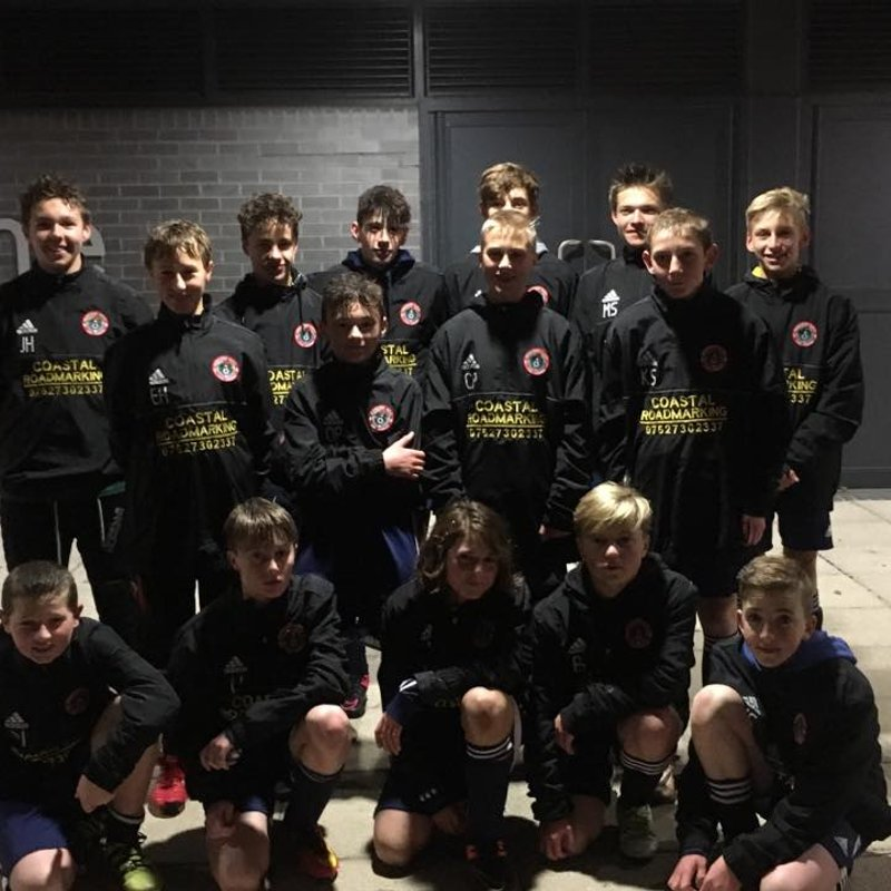 U14s NEW WINDCHEATERS.