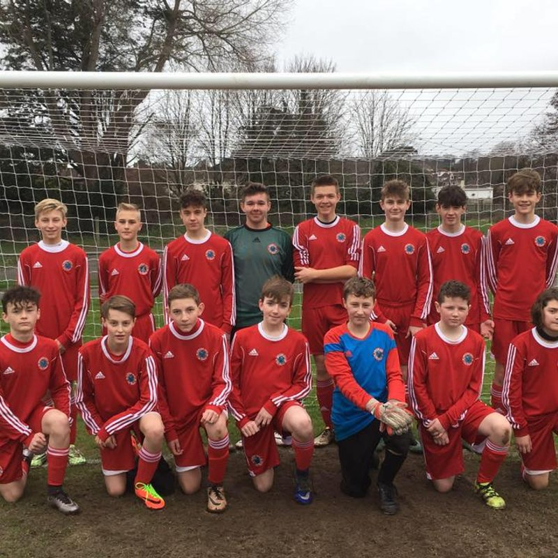 U14s CUP RUN COMES TO AN END