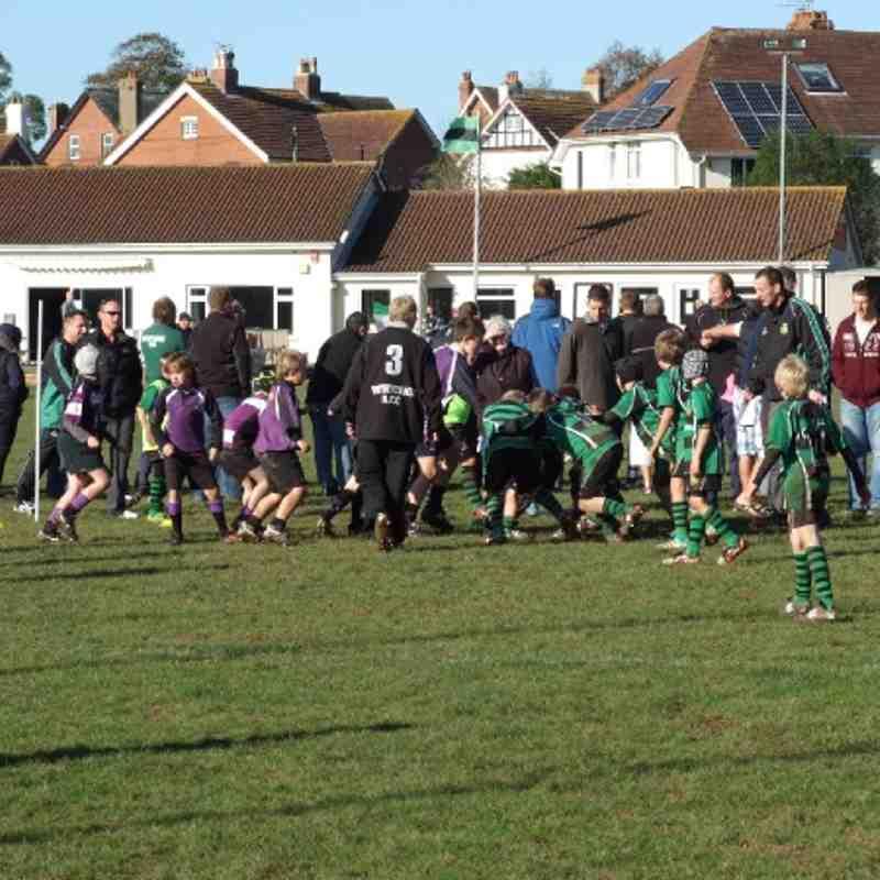 Exmouth U10s v Withycombe - 06/11/2011