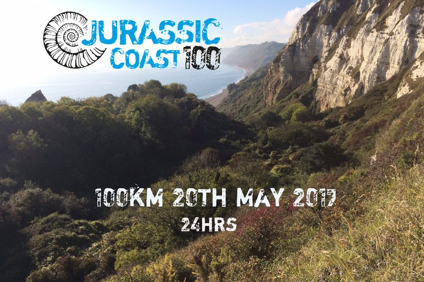 Under 6 coaches taking part in the Jurassic Coast 100