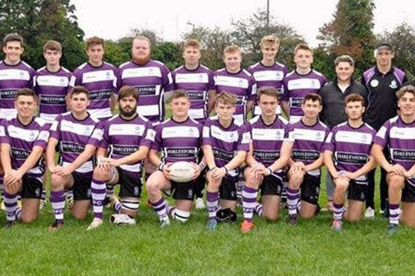 Colts XV beat Exeter Saracens 5 - 47