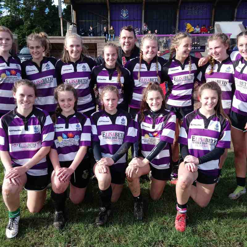 Excombe Girls - 14 Oct 2018