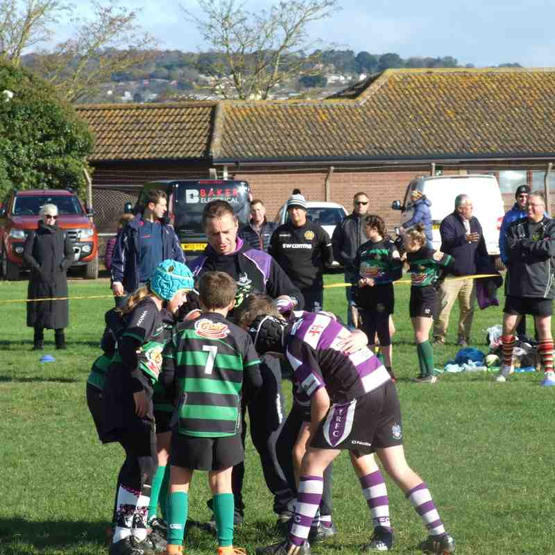 Exmouth U11s v Withycombe