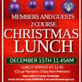 Members Lunch - 15th December