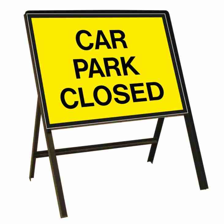 Car park closed Sunday