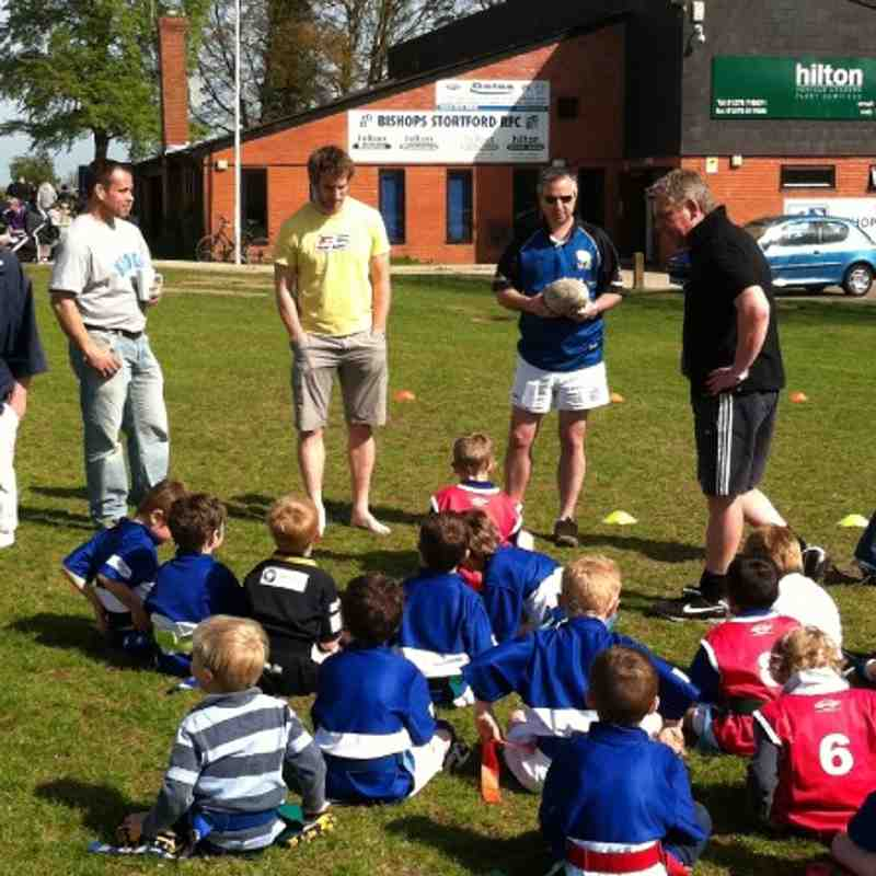 U6s meet Mark and Stuart from 1st XV