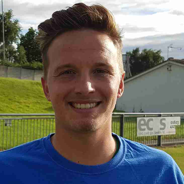 Denton holds hands up after Pontefract defeat