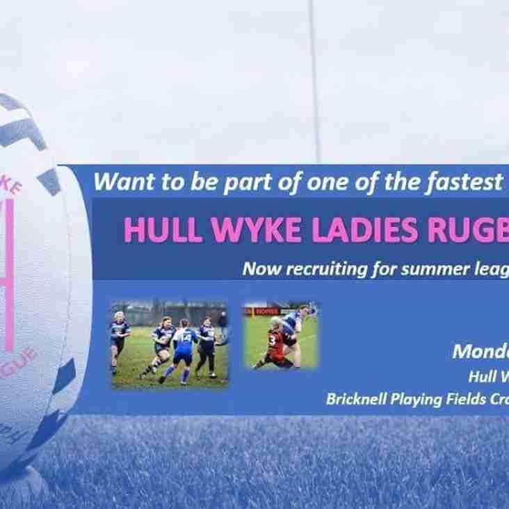 Hull Wyke Ladies v Brighouse Cup Game