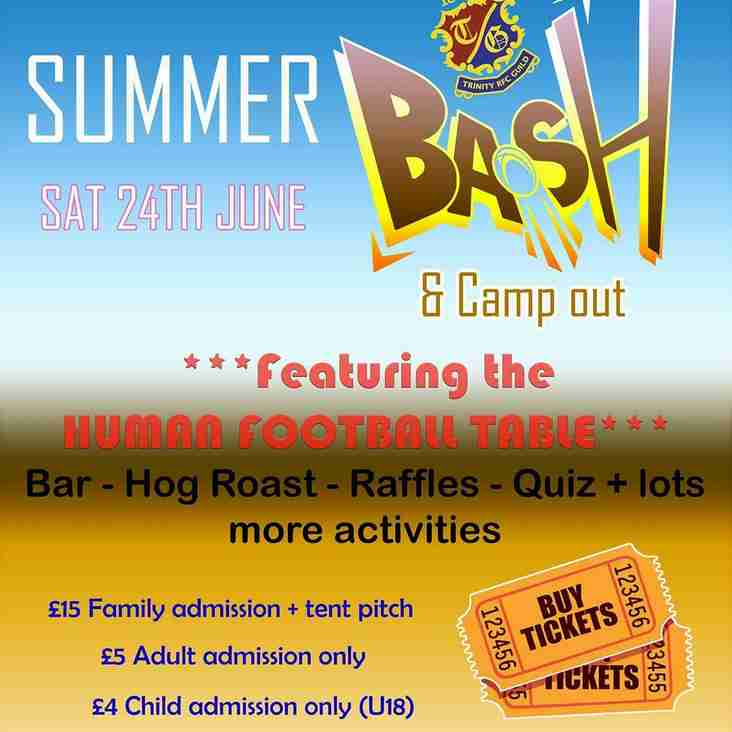 Come and enjoy Trinity Guild's RFC Summer Bash!