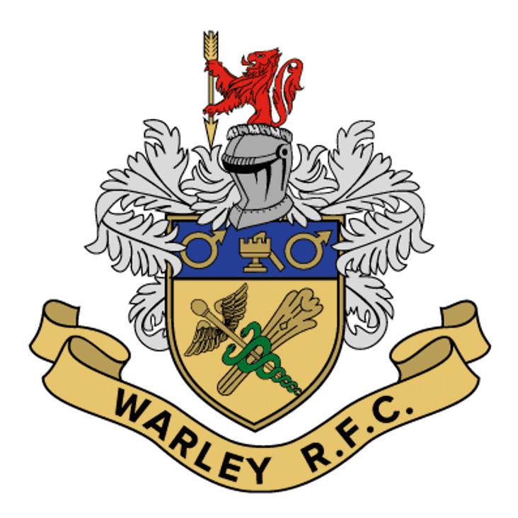 Fixture Update - Cup Match against Warley RFC