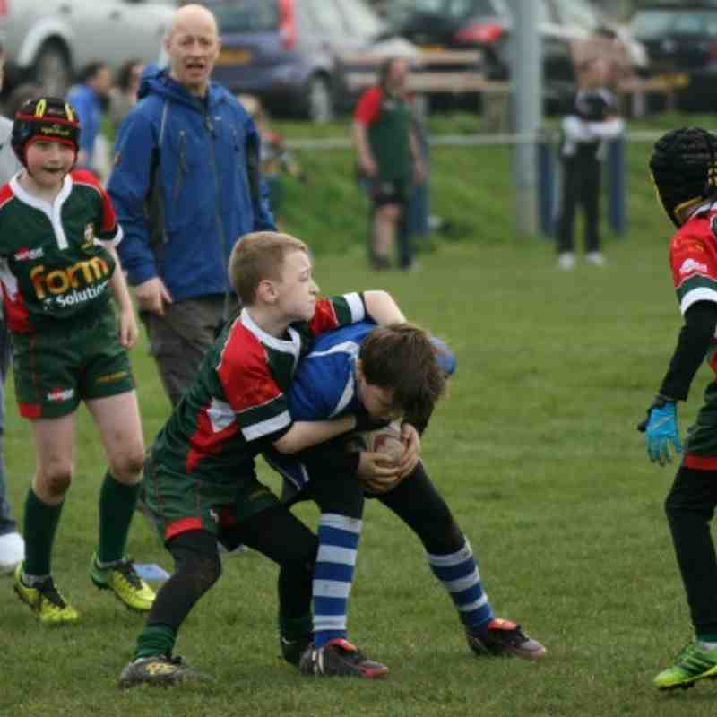 BBOB/Luton triangular U10s 30.3.13