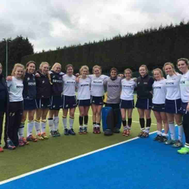 Ladies 1s finish 2016/17 season with pride