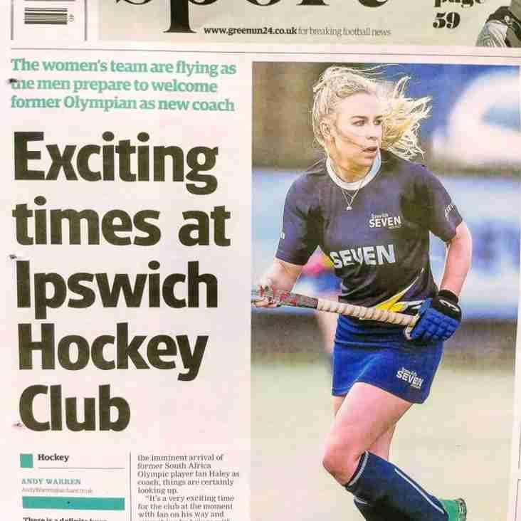 Club hits the headlines