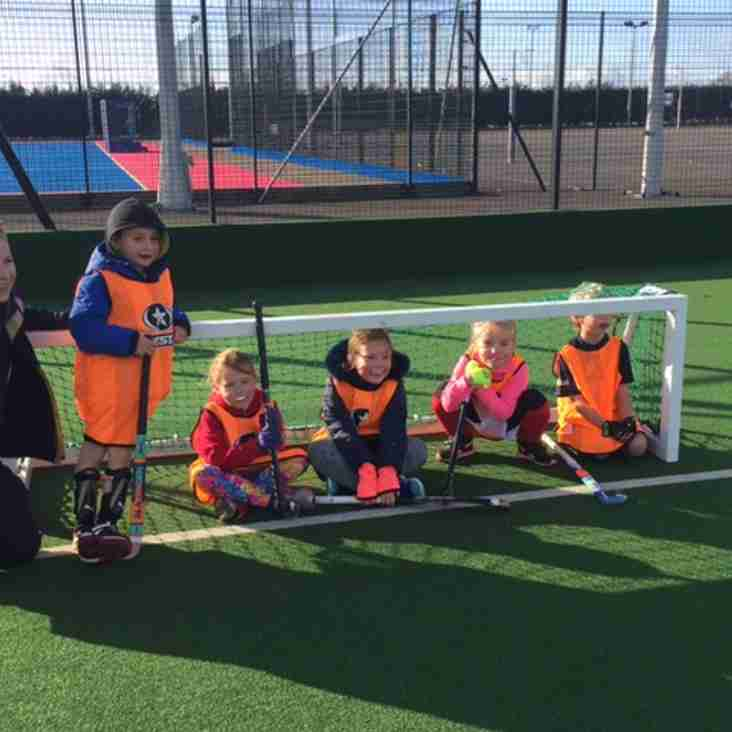 Under 8s take part in their first junior tournament of the year