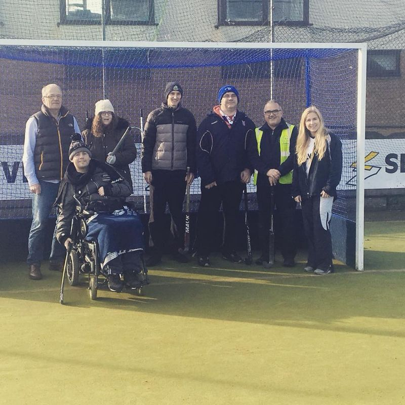 Walking Hockey with Headway Suffolk