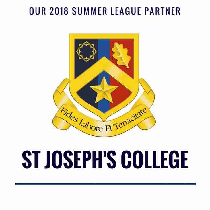 Our 2018 summer league partner...