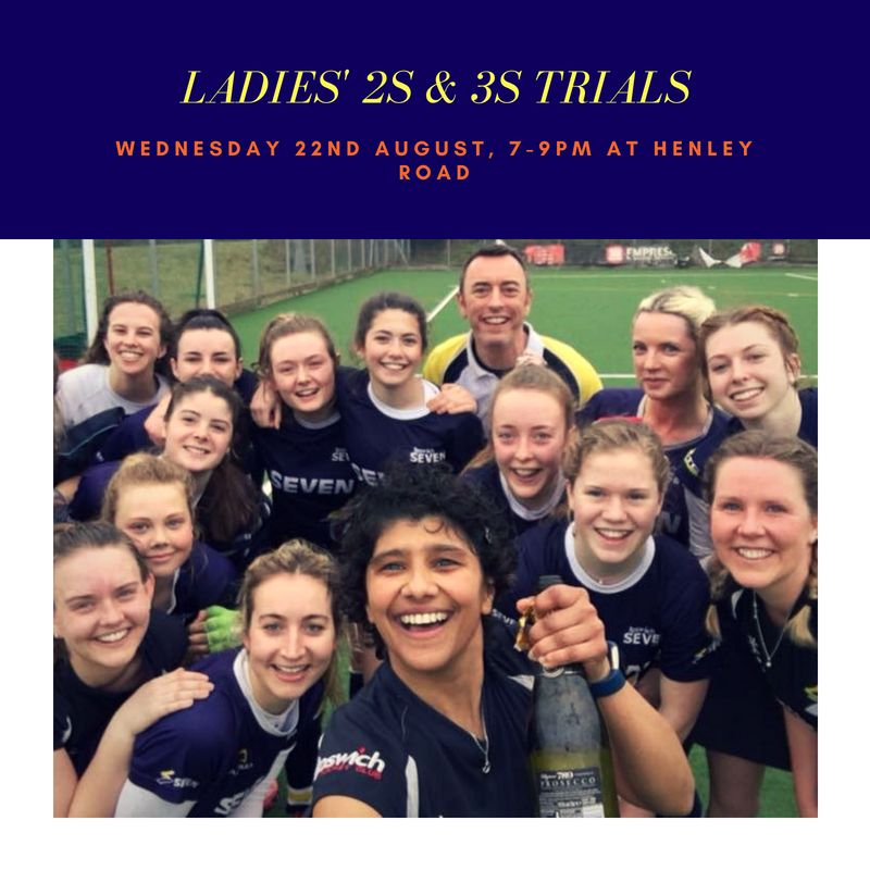 Ladies' 2s and 3s trials