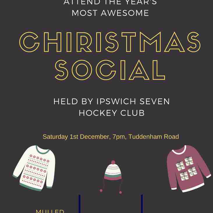 Christmas social...