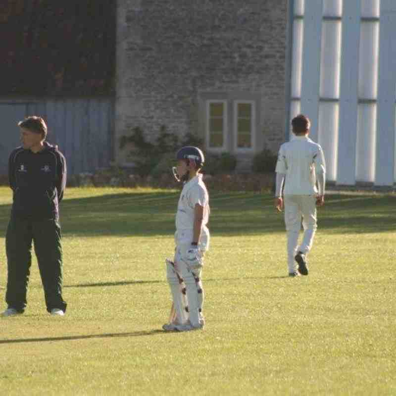 U13s away at Biddestone - ECB Cup - 3rd June 2015