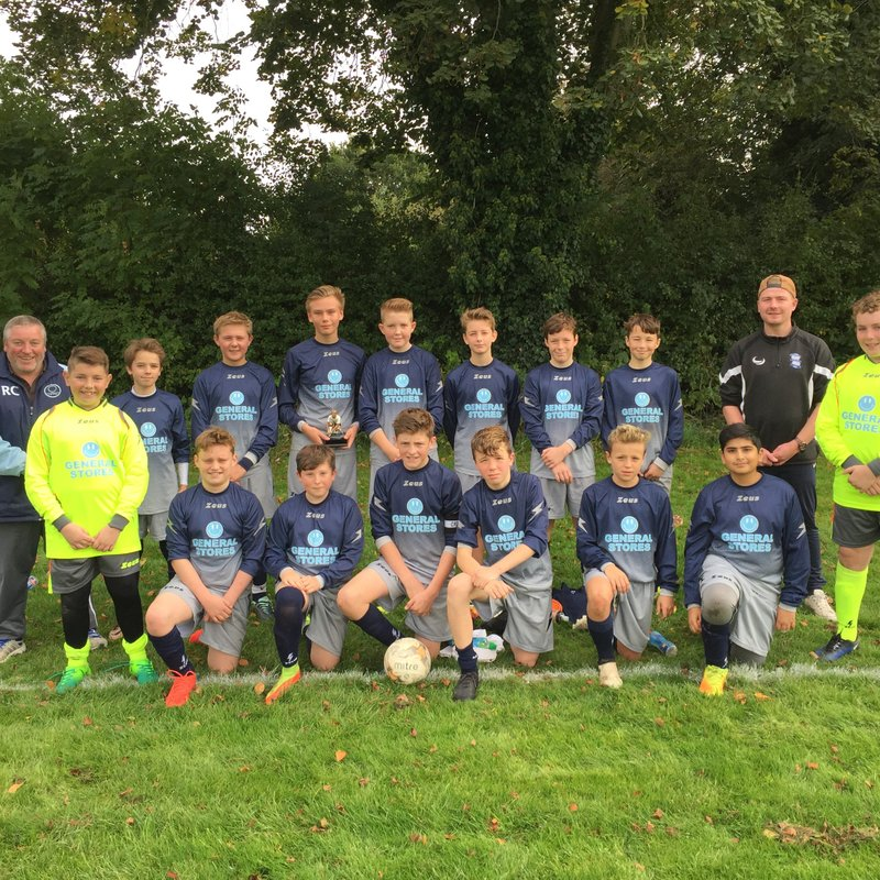 Henley Forest FC U14s Step Out in New Kit