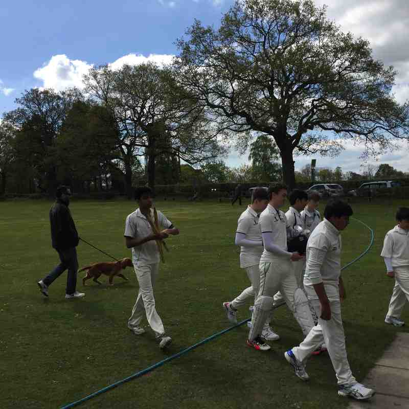 DIdsbury CC Vs Toft CC Under 15 league 2017