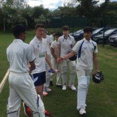 DIdsbury U-15 after winning