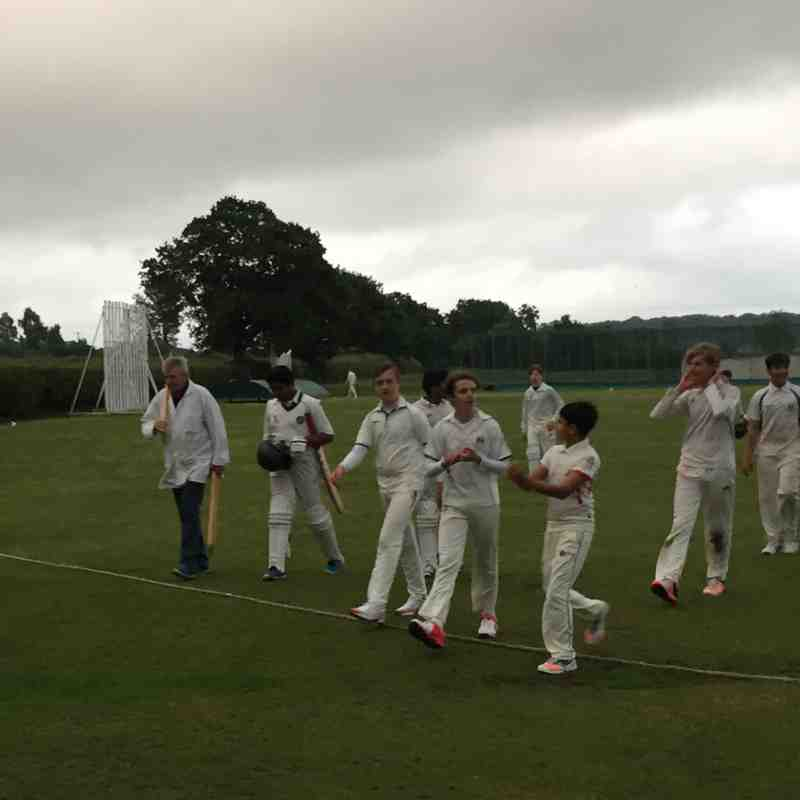 DIdsbury C.C wins against Ashley C.C (U-14) Cup match at Ashley Cricket Ground-May 30,2017