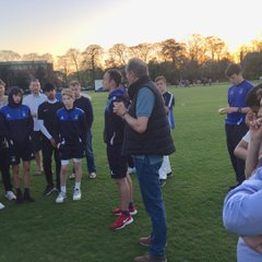 U-15 Team & their Parents, during 'Path of Progression' meeting, with management of DIdsbury Cricket Club