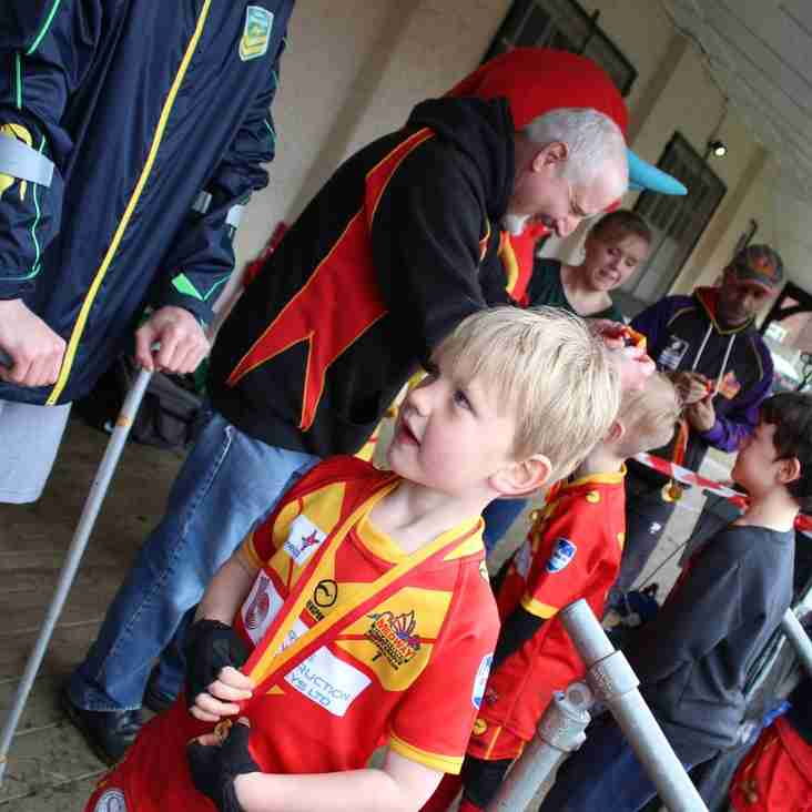 Medway Dragons Primary Rugby League Open Day.