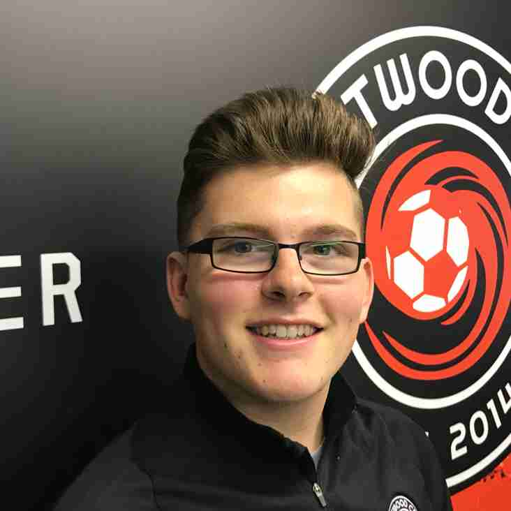Eastwood CFC Academy appoint Marketing and Recruitment Executive