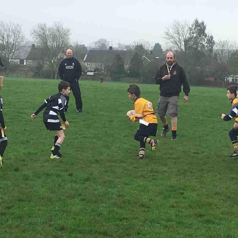 U8's at Upminster Rugby Festival 15/04/18