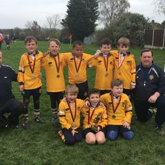 U8's at Upminster Rugby Festival 15/04/18